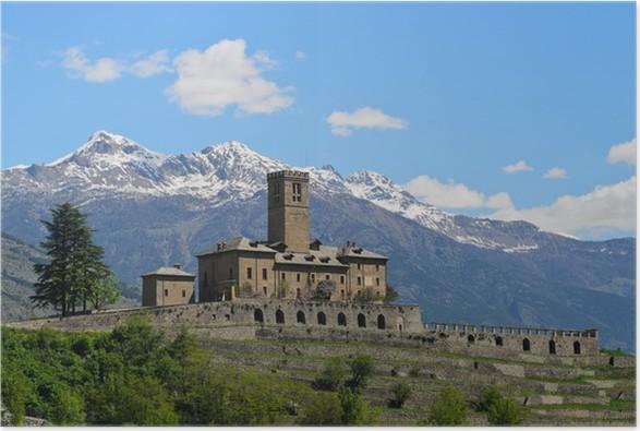 Plakát Castello di Sarre - Valle d'Aosta - Prázdniny