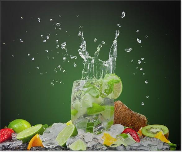 Plakát Čerstvý nápoj - Do restaurace