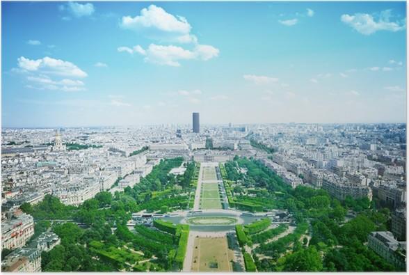 Plakát Champs de Mars - Evropská města