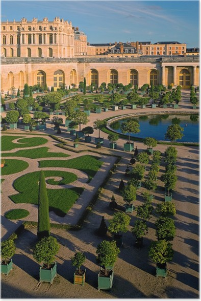 Plakát Château de Versailles Orangerie - Památky