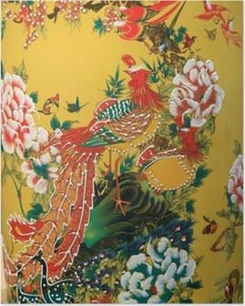 Plakat Chińska waza z Tajlandii.