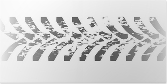 Plakat Ciągniki opon towarowe