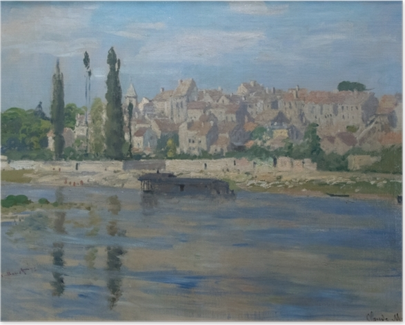 Plakat Claude Monet - Carrières-Saint-Denis - Reprodukcje