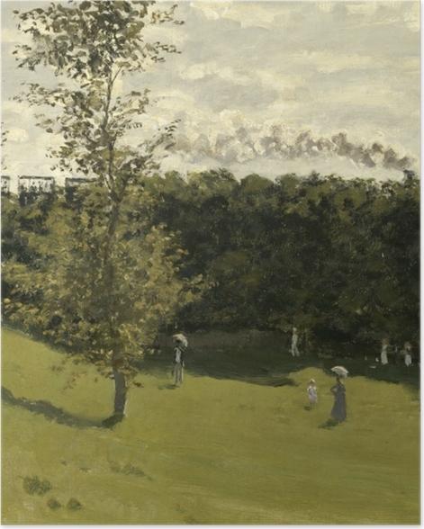 Plakat Claude Monet - Kolejka podmiejska - Reprodukcje