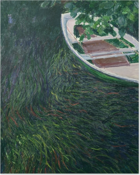 Plakat Claude Monet - Łódka - Reprodukcje