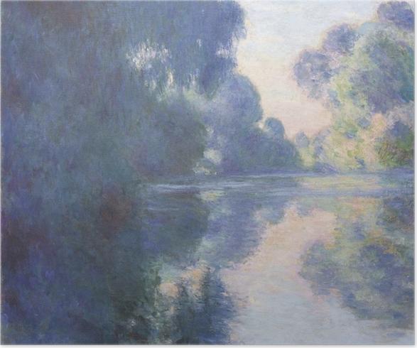 Plakat Claude Monet - Poranek nad Sekwaną - Reprodukcje