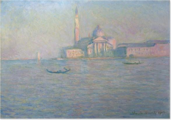 Plakat Claude Monet - San Giorgio Maggiore - Reprodukcje