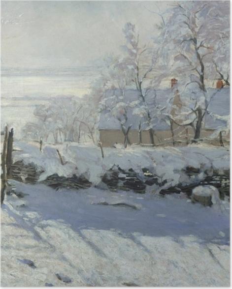 Plakat Claude Monet - Sroka - Reprodukcje