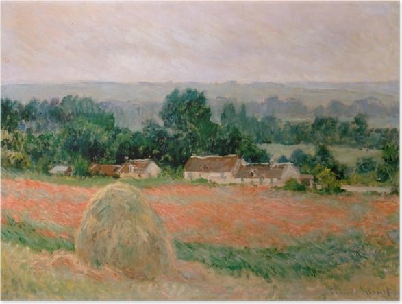 Plakat Claude Monet - Stóg siana w Giverny - Reprodukcje
