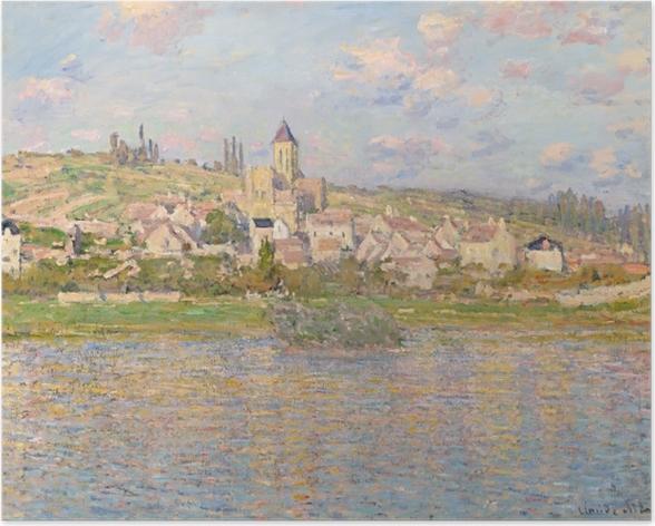 Plakat Claude Monet - Vetheuil - Reprodukcje