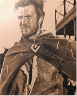 Plakat Clint Eastwood
