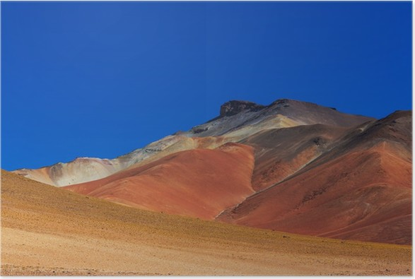Plakát Dali desert - Příroda a divočina