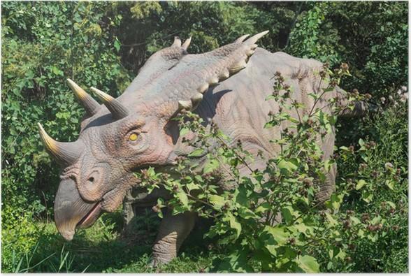 Plakát Dinosours ve volné přírodě - Imaginární zvířata