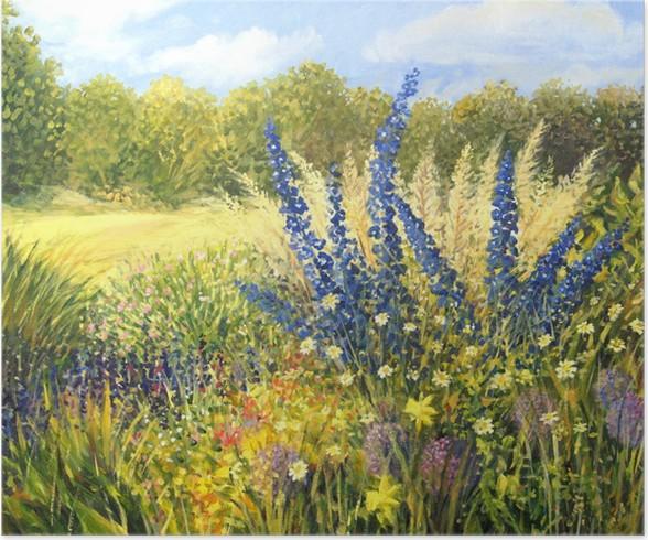 Plakát Divoké květiny - Roční období