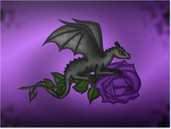 Plakát Drak na růže - Témata