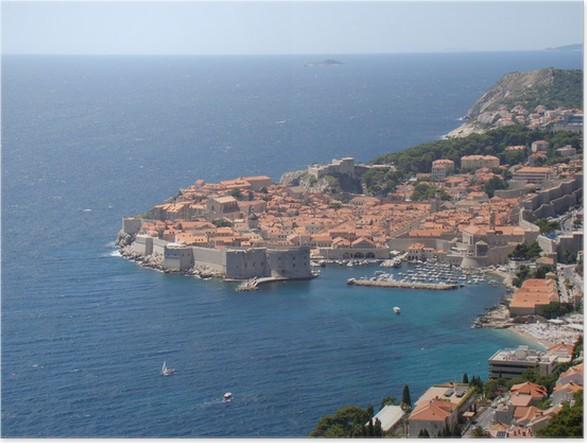 Plakát Dubrovnik, Chorvatsko - Témata
