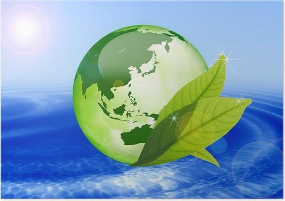 Plakát Eco-image - Ekologie