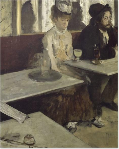 Plakat Edgar Degas - Absynt - Reprodukcje