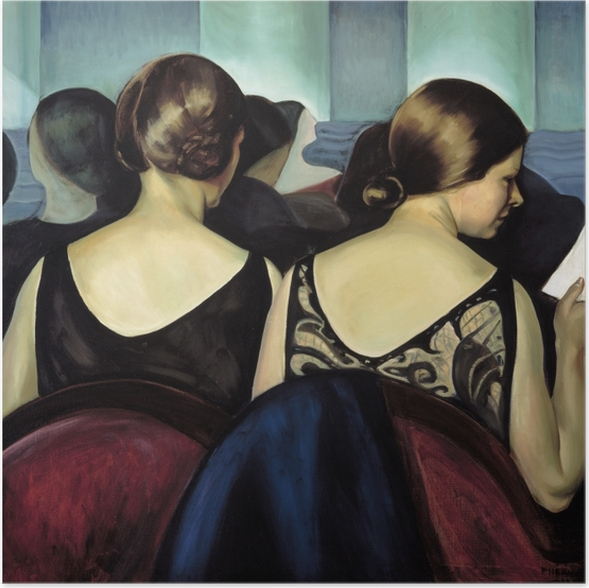 Plakat Efa Prudence Heward - W teatrze - Reproductions
