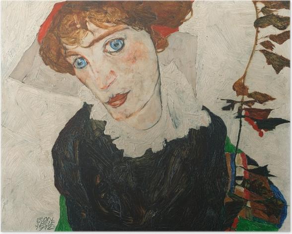 Plakat Egon Schiele - Portret Gerti Schiele - Reprodukcje