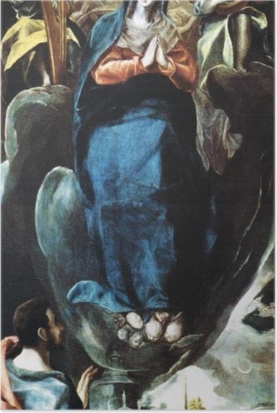 Plakat El Greco - Maria Immaculata - Reprodukcje