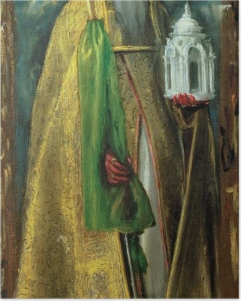 Plakat El Greco - Święty Augustyn - Reprodukcje