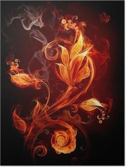 Plakat Fire Flower
