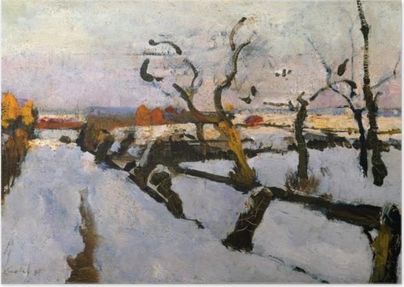 Plakat Floris Verster - Studium śniegu - Reproductions