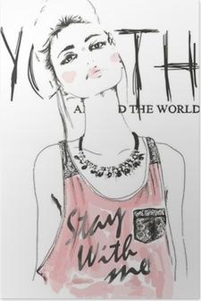 Plakat Girlsketch