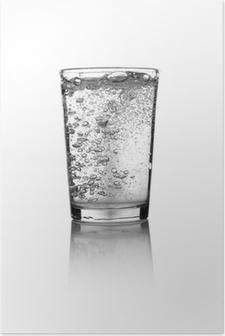 Plakat Glass of water