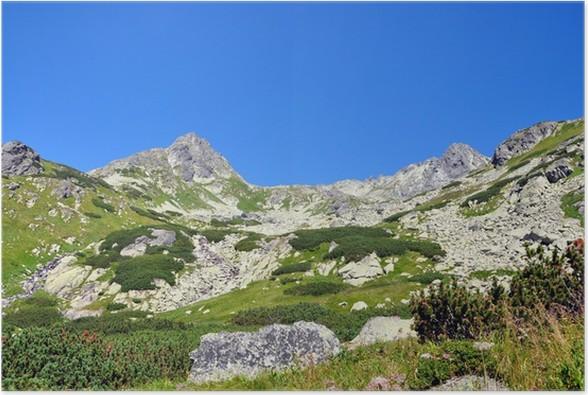 Plakat Góry Tatry Wysokie Słowacja