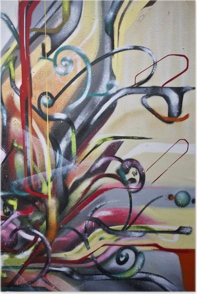 Plakát Graffiti abstrait - Témata
