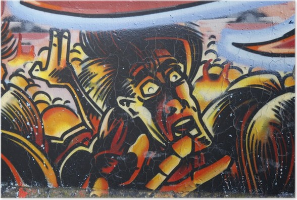 Plakát Graffiti strach - Témata