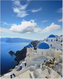 Plakat Grecja - Santorini (Oia)