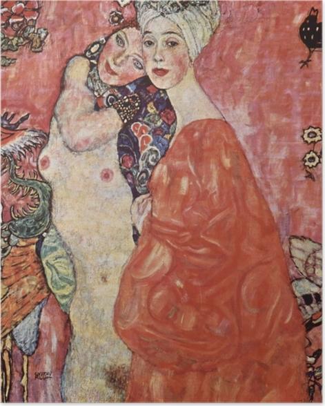 Plakat Gustav Klimt - Przyjaciółki - Reprodukcje