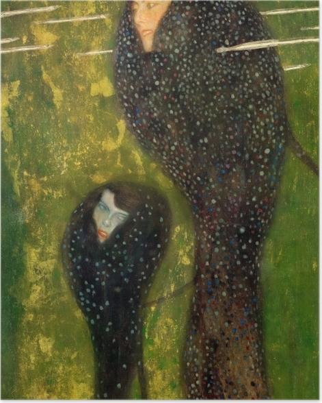 Plakat Gustav Klimt - Syreny - Reprodukcje