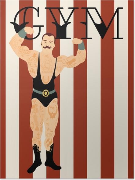 Plakat Gym - Motywacyjne