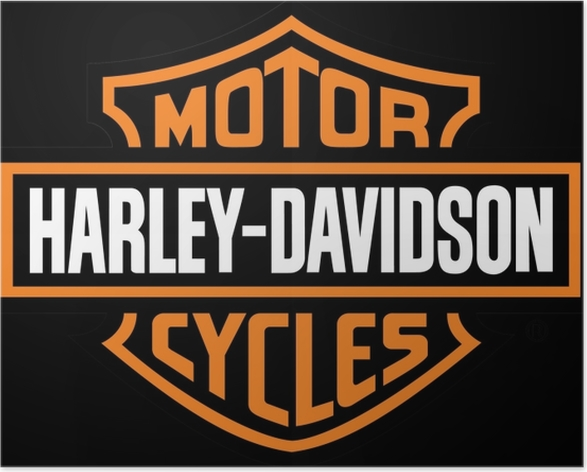 Plakat Harley Davidson - Tematy