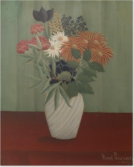 Plakat Henri Rousseau - Bukiet kwiatów - Reprodukcje