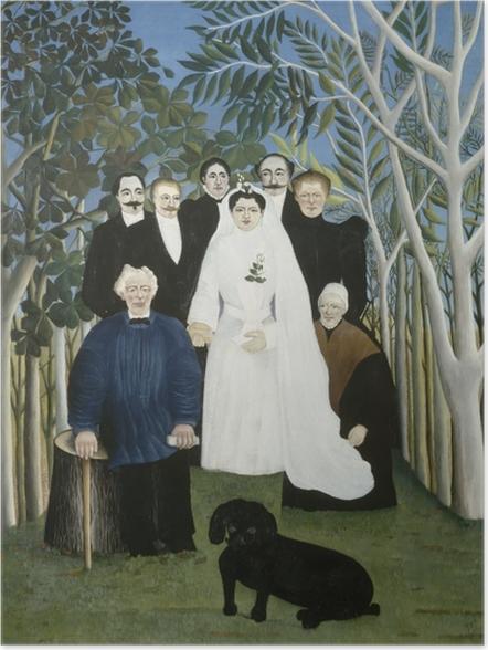 Plakat Henri Rousseau - Wesele - Reprodukcje