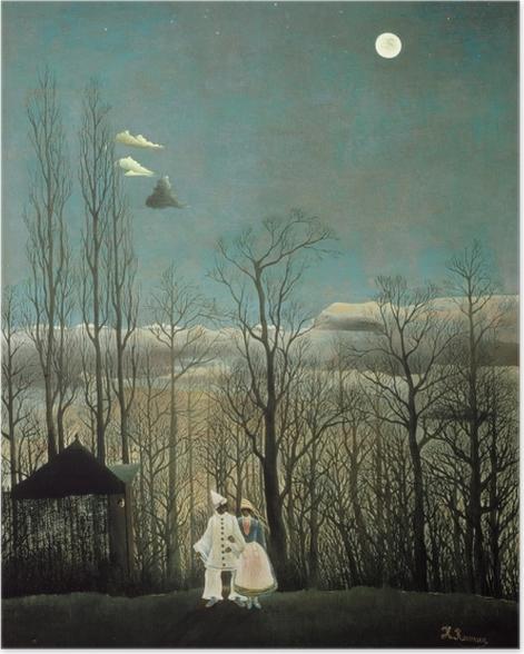 Plakat Henri Rousseau - Wieczór karnawałowy - Reprodukcje