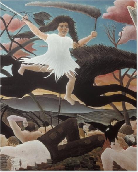 Plakat Henri Rousseau - Wojna - Reprodukcje