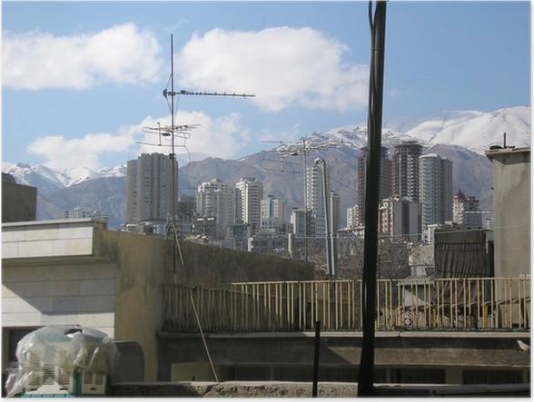 Plakát Hl.m. - írán - Město