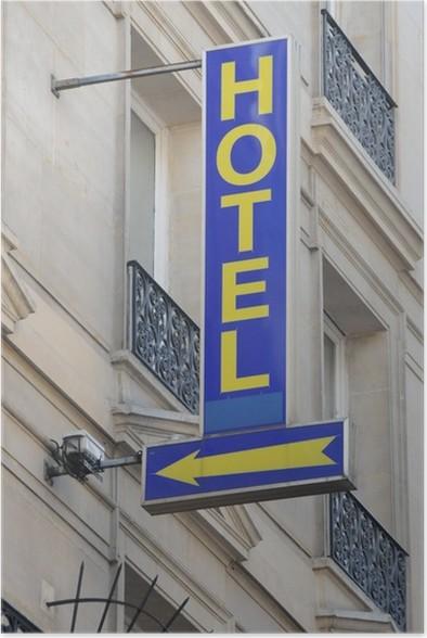Plakát Hotel - Obchody
