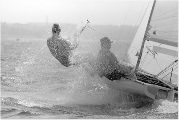 Plakát Hvězda regata - Vodní sporty