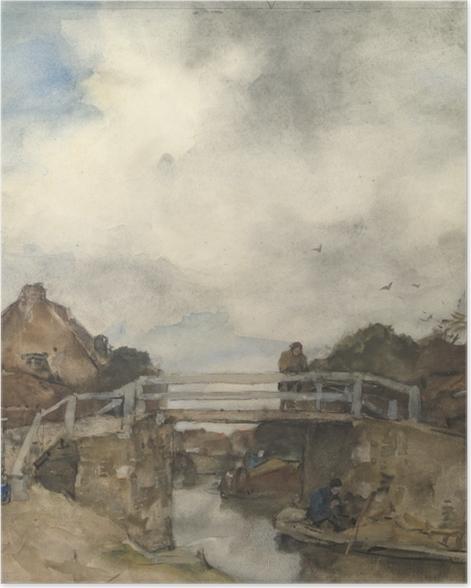 Plakat Jacob Maris - Kanał w Rijswijk - Reproductions