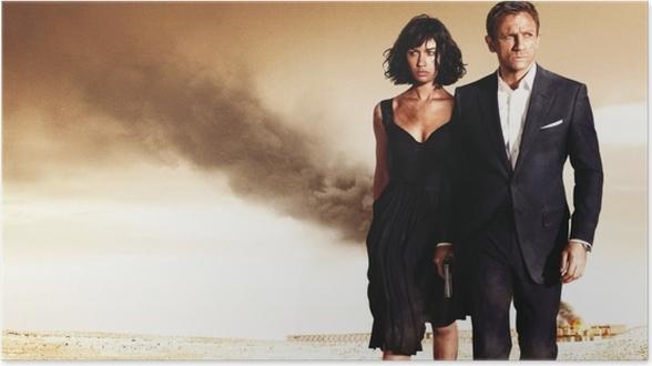 Plakat James Bond - Tematy