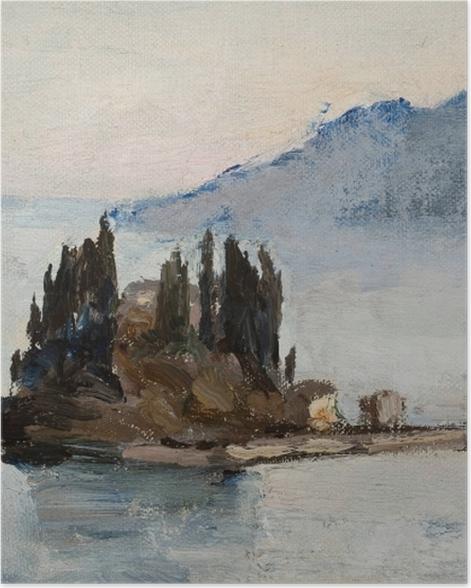 Plakat Jan Ciągliński - Corfu. Z podróży do Grecji - Reproductions