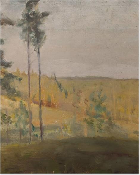 Plakat Jan Ciągliński - Terioki - Finlandia - Reproductions