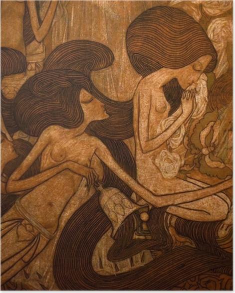 Plakat Jan Toorop - Trzy panny młode - Reproductions